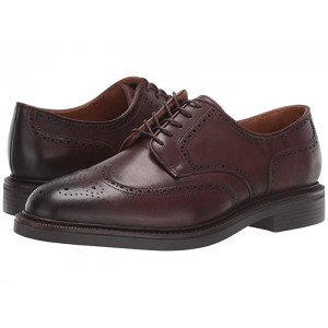 Asher Wing Tip Polo Brown Calf Leather