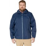 Columbia Big & Tall Oroville Creek Lined Jacket Collegiate Navy/Mountain Zip