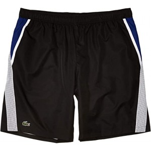 Lacoste Jersey Lined Shorts Black/White/Cosmic
