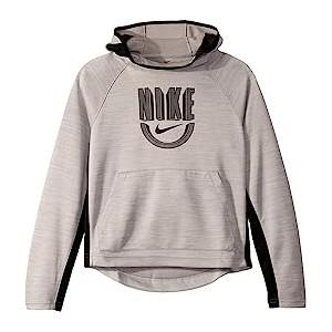 Spotlight Basketball Pullover Hoodie (Little Kids/Big Kids) Atmosphere Grey/Heather/Black/Black
