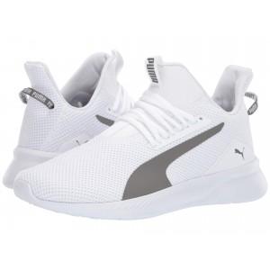 Tishatsu Fresh Puma White/Charcoal Gray