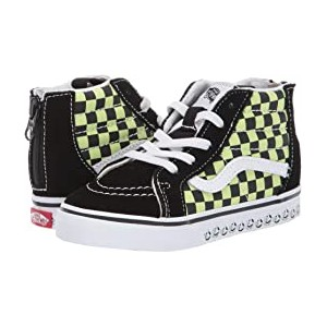 Sk8-Hi Zip (Infant/Toddler) (Vans BMX) Black/Sharp Green