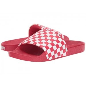Slide-On (Checkerboard) Racing Red