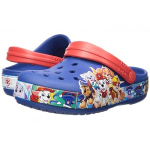 Fun Lab Paw Patrol Band Clog (Toddler/Little Kid) Blue Jean