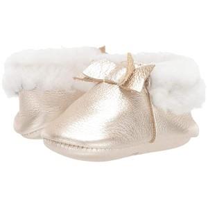 Platinum Shearling Bow Mocc (Infant/Toddler) Platinum