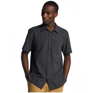 The North Face Short Sleeve Baytrail Pattern Shirt Asphalt Grey
