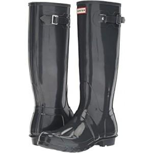 Original Tall Gloss Rain Boots Dark Slate