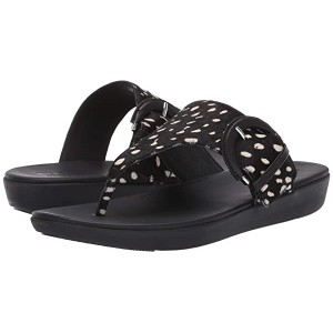 FitFlop Annelia Buckle Toe Thong Black