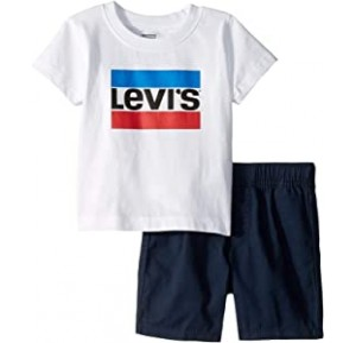 Sportswear Logo Tee with Shorts Set (Infant)