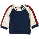 Felted Cotton Jersey w/ GG Trim Sweatshirt (Infant)