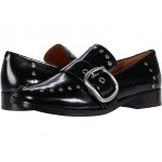 Alexa Loafer with Studs Black