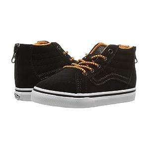 Sk8-Hi Zip (Infant/Toddler) (MTE) Orange/Black