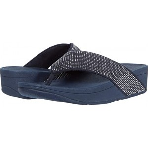 FitFlop Ritzy Toe Thong Sandals Midnight Navy