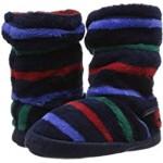 Fleece Lined Slippersock (Toddler/Little Kid/Big Kid) Multi Stripe