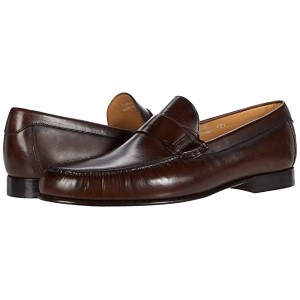 Canali Shaded Calfskin Loafer Tobacco