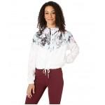 Hyper Femme Jacket Crop Windrunner White/White