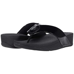 Demelza Logo Toe-Post Sandals