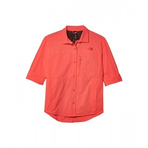 The North Face Outdoor Trail Long Sleeve Shirt Cayenne Red