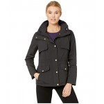 Travel Packable Zip Front Jacket with Front Placket and Snaps