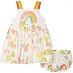 Sleeveless Paint Rainbow Dress (Infant)