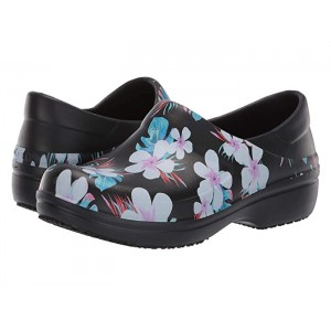 Neria Pro II Graphic Clog Tropical Floral/Black
