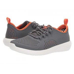LiteRide Pacer (Toddler/Little Kid/Big Kid) Charcoal/White