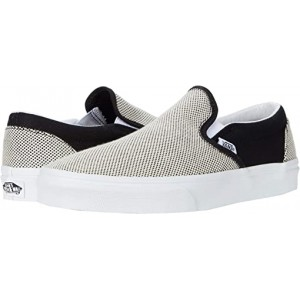 Vans Classic Slip-On Two-Tone Linen Black/True White