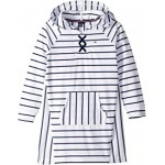 Hooded Lace-Up Sweatshirt Dress (Big Kids)