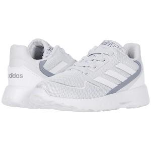 adidas Kids Nebzed (Infantu002FToddler) Dash Grey/Footwear White/Signal Green