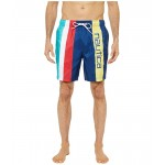 Nautica Striped Swimwear Blue