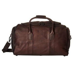 Kenneth Cole Reaction Colombian Leather Duffel Brown