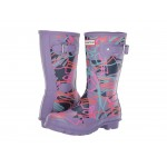 Disney Mary Poppins Original Short Rain Boots Parma Violet Bright Camo Print