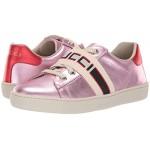 GG Strap Low Top Sneaker (Little Kid)