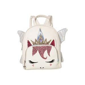 OMG! Accessories Fairy Queen Unicorn Mini Backpack White