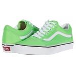 Vans Old Skool Neon Green Gecko/True White