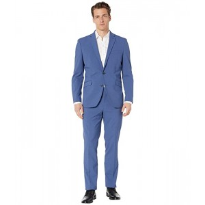 Check Slim Fit Stretch Performance Suit