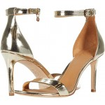 Tory Burch Ellie 85 mm Ankle-Strap Sandal Spark Gold