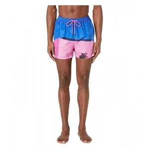 La Pink Wall Classic Swim Shorts