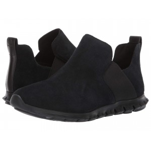 Zerogrand Slip-On Boot Black Suede