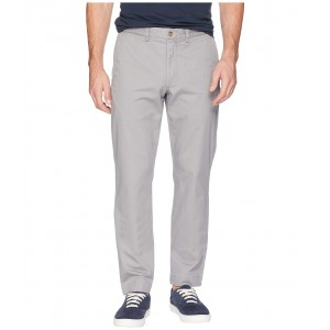 Cotton Stretch Twill Bedford Flat Pants Museum Grey