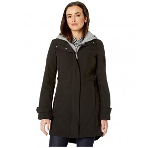 34 Softshell w/ Sweatshirt Hoodie Insert Black