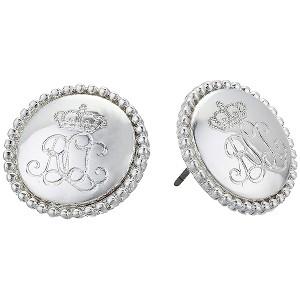 Logo Stud Earrings