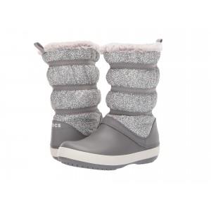 Crocband Winter Boot Dots/Smoke