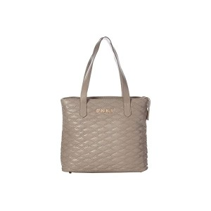 DKNY Quilted Tote Clay
