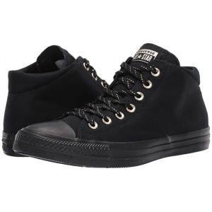Chuck Taylor All Star Madison Final Frontier - Mid Black/Black/Gold