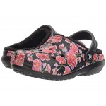 Classic Lined Graphic II Clog Red/Black
