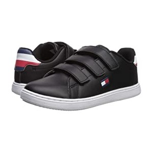 Iconic Court Alt (Little Kid/Big Kid) Black