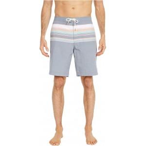 Baja Sanders Beach Stripe Swim Trunks