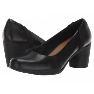 Un Rosa Step Black Leather