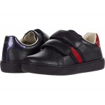 Leather Sneaker wu002F Web (Toddler)
